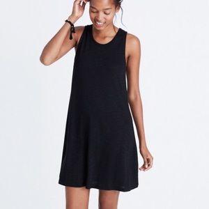 Madewell Highpoint Tank Dress Black